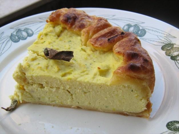 Risultati immagini per torta salata patate ricotta